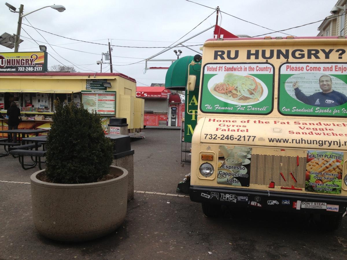Rutgers University Food Trucks