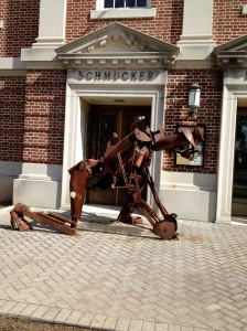 Guard at Gettysburg Art Museum